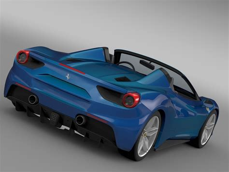 Ferrari 488 price ranges from rs. Ferrari 488 GTB Spider 2016 3D Model .max .obj .3ds .fbx .c4d .lwo .lw .lws - CGTrader.com