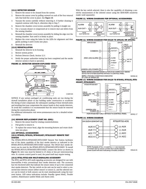 system sensor d4120 d4p120 and d4s user manual page 7 8
