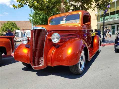 Chevy Truck Wins The Hot August Nights Downtown Show