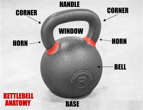 kettlebell bell kettlebells anatomy handle base guide horn includes corner window fitness rogue competition buyer