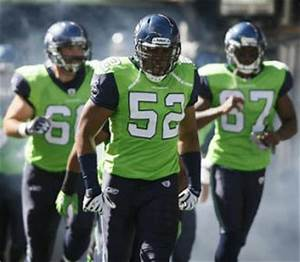 So what do you think of Seahawks in green Seattle PI