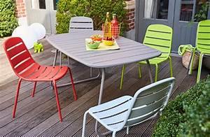 Carrefour Table Jardin : chaise de jardin hyba l 39 univers du jardin ~ Teatrodelosmanantiales.com Idées de Décoration