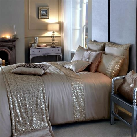 luxury bedding kylie minogue satin sequins  elegant