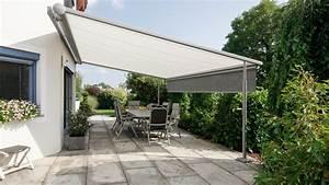 pergolamarkise aus osterrreich vom sonnenschutzprofi With markise balkon mit trend tapeten