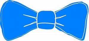 Blue Bow Tie Clip Art at Clker.com - vector clip art ...