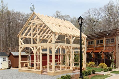 post beam barn - Timber Frame Photos: The Barn Yard &