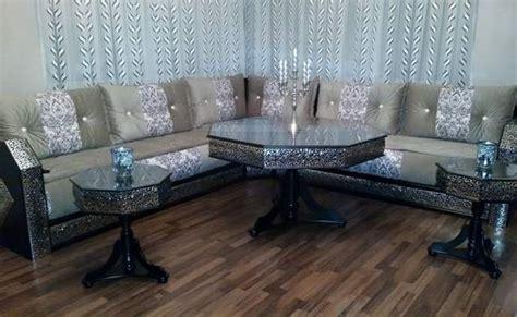 201 tonnant salon marocain blanc argent 233 style moucharabieh