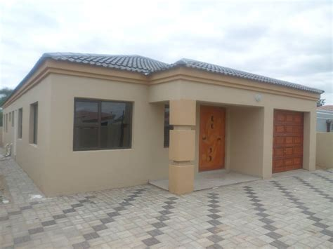 3 Bedroom Homes For Sale by Tsholefelo Gaborone 3 Bed House For Sale Impact