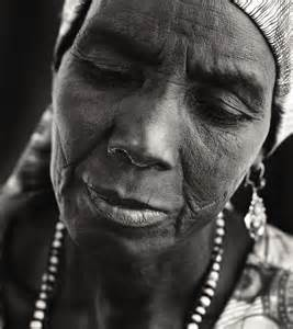 Old African Woman Portrait