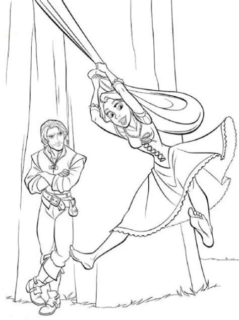fun coloring pages tangled rapunzel coloring pages