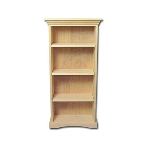 Wood Bookcase Kits by New Solid Wood Bookcase Kit Unfinished Wood