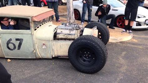 Bmw Powered Rat Rod Leaving Cars And Coffee Irvine