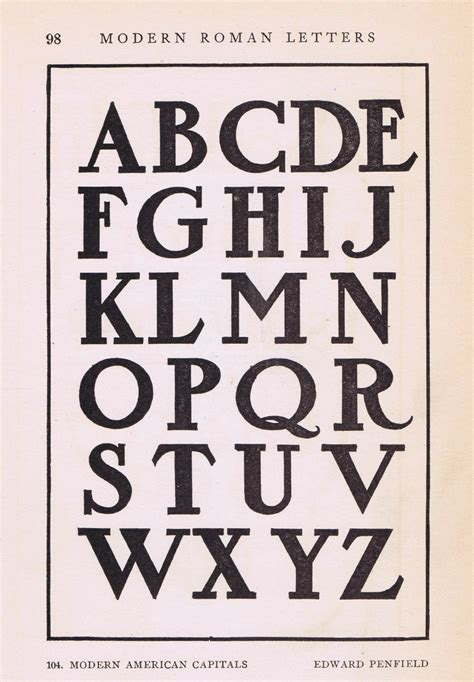 antique alphabet font  early  knick  time elegant simple fonts wall decoration vintage