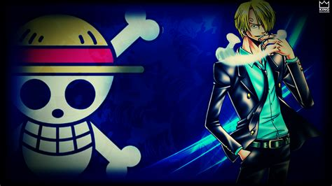 sanji wallpaper atone piece  kingwallpaper  deviantart