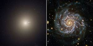 Merging Giant Galaxies Sport 'Blue Bling' in New Hubble ...