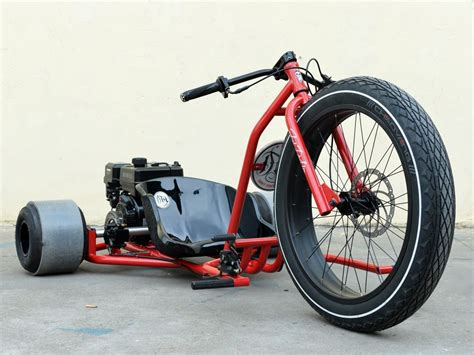 Boom 208cc Air Cooled Drift Trike Tricycle Bike Big Front