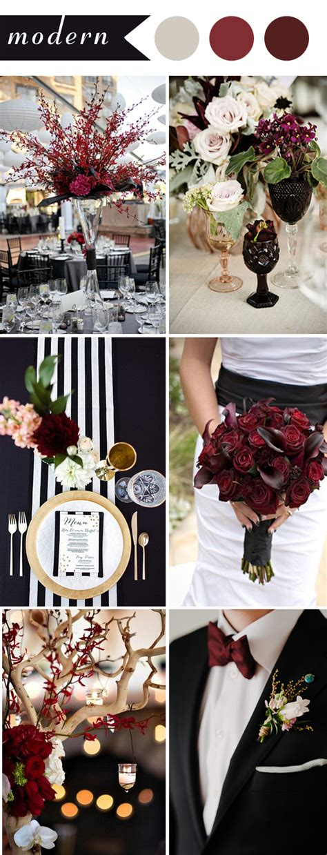 burgundy wedding themes ideas for 2017 elegantweddinginvites com blog