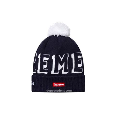 supreme new era supreme new era banner beanie dopestudent