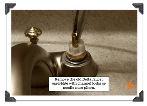 learn   fix  leaky faucet delta bathroom faucet