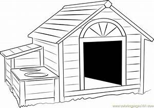 Snoopy Dog House Coloring Page Coloring Pages