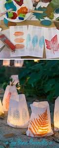 Basteln Mit Papiertüten : windlichter selber basteln aus papiert ten und gesammelten ~ A.2002-acura-tl-radio.info Haus und Dekorationen