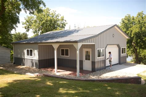 cost of morton building garage garages with living quarters packages studio