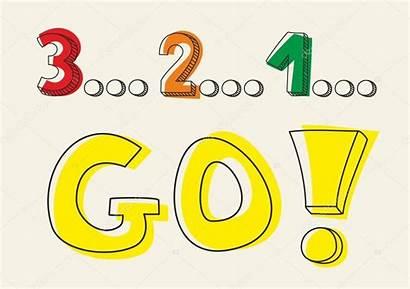 Illustration Countdown Office Vector Lights Yellow Marker