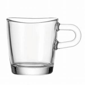 Tasse En Verre : tasse expresso verre loop leonardo la casserolerie ~ Teatrodelosmanantiales.com Idées de Décoration
