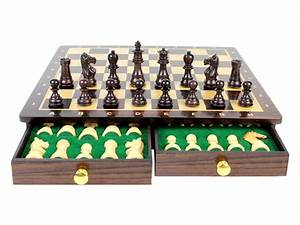 Magnetic Chess Set Pieces Rose Wood Galaxy Staunton King