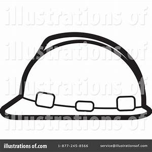 Hard hat clipart black and white collection