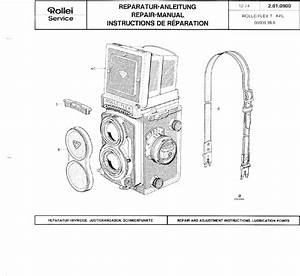 Rollei Rolleiflex T Repair Manual