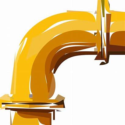 Pipe Clipart Yellow Bend Transparent Right Webstockreview