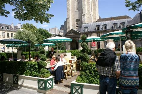 caf 233 des deux magots boulevard germain terrasse photo de quartier germain des