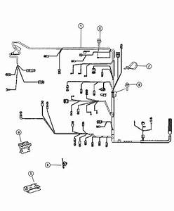 2007 Dodge Sprinter 2500 Harness  Wiring  Battery