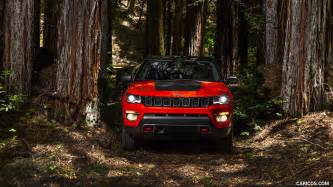 Jeep Compass 4k Wallpapers by 2017 Jeep Compass Trailhawk Front Hd Wallpaper 60