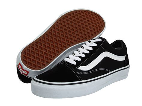 sepatu casual black vans skool classics at zappos