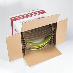 Carton Pour Verre : carton assiettes pas cher acheter carton vaisselle avec ~ Edinachiropracticcenter.com Idées de Décoration