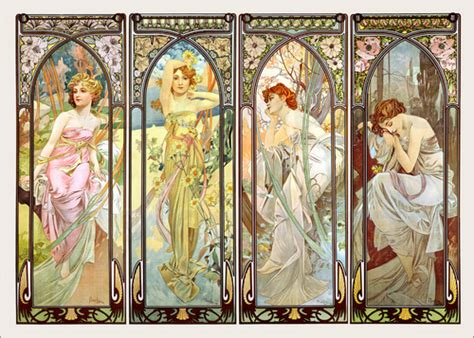 Alphonse Mucha Paintings From £6.90