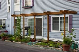 Pergola Attached To House Kit - Thediapercake Home Trend