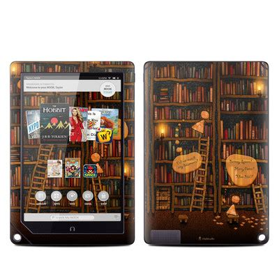 barnes and noble nook books barnes and noble nook hd plus tablet skin tree of books