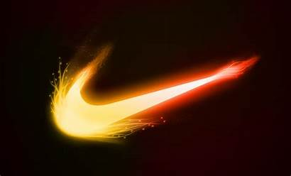 Nike Cool Gold Logos Background Sign Backgrounds