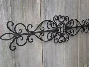 Wrought iron wall decor wall art pinterest wrought for Wrought iron wall decorations