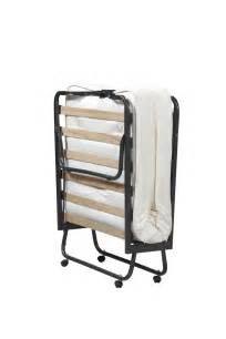 linon folding bed memory foam mattress roll away guest