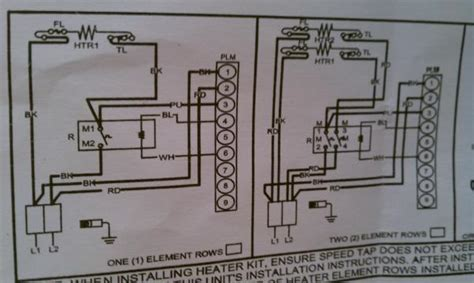 wiring  heat strip  heat pump system doityourself