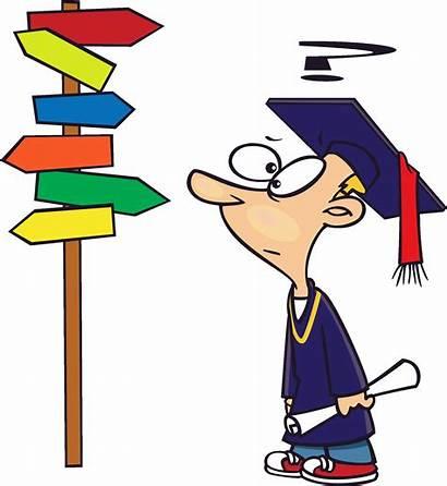 College Clip Clipart Single Illustrations Directions Graduate