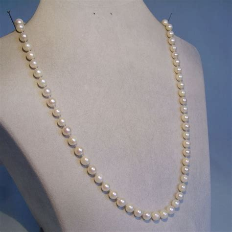deco pearl necklace deco pearl necklace akoya cultivated pearls between 1926 to 1930 catawiki