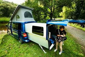 Vw Camping Car : un vw transporter en mode camping car ~ Medecine-chirurgie-esthetiques.com Avis de Voitures