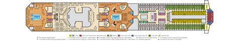 Carnival Valor Deck Plans Cabins by Galveston Cruises Carnival Valor Lido Deck