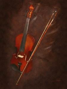 Artist's Violin Digital Art by Dale Jackson