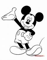 Mickey Mouse Drawing Coloring Pages Disney Games Disneyclips Presenting Minnie Cartoon Colouring Drawings Gangster Clipart Paintingvalley Funstuff Stickers sketch template